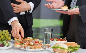 Boardroom lunches